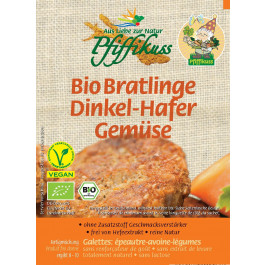 Pfiffikus Bio Dinkel-Hafer-Gemüse Bratlinge 160g