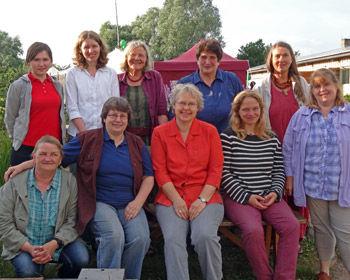 Das Team vom Kräutergarten