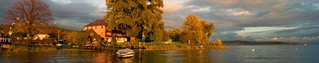 Der Bodensee im Herbst
